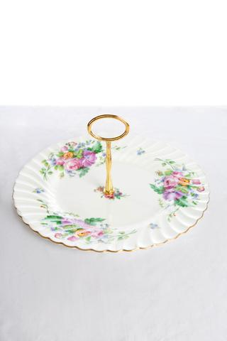 Single tier high tea stands I $6.00 each