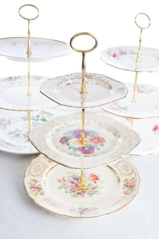 Three tier high tea stands I $18.00 each