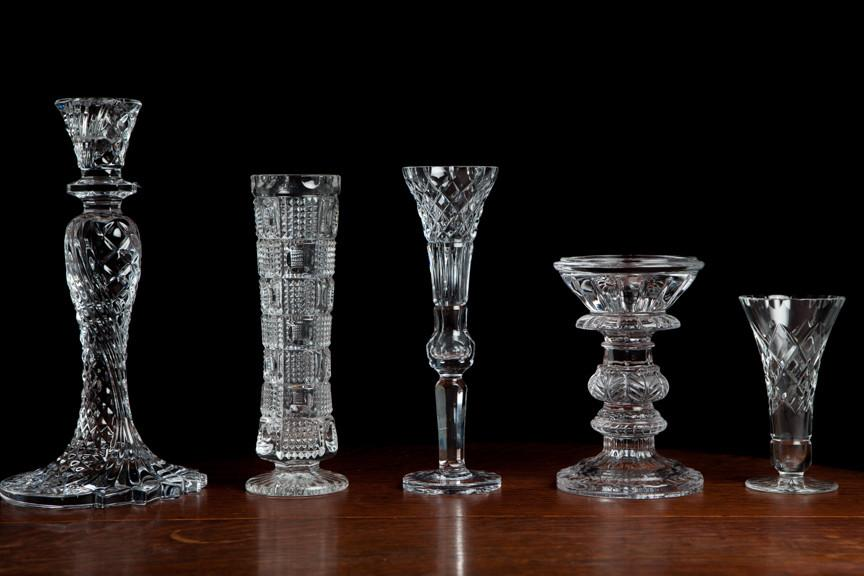 Assorted Crystal Candlesticks I $5.00