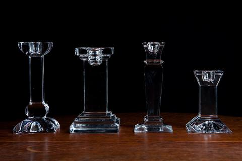 Assorted Crystal Candlesticks I $7.50
