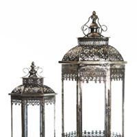 Lantern Black/Silver I Sml$7.50 Lge$10.00 I Qty