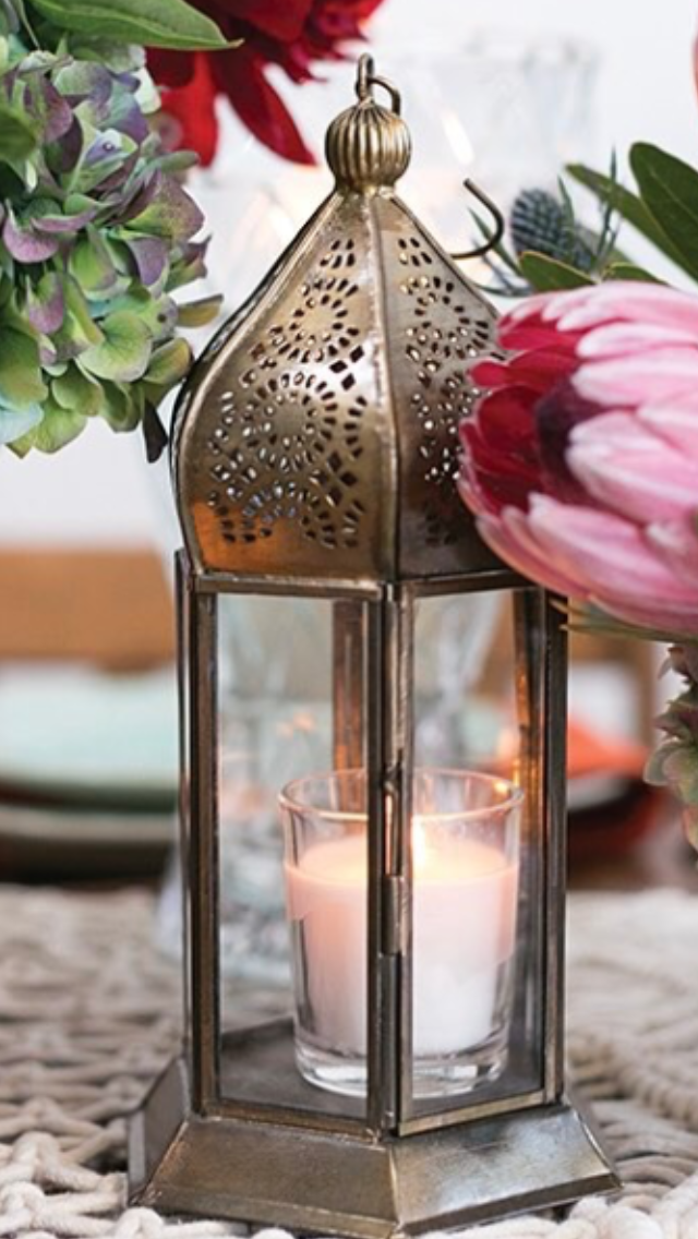 Gold Moroccan Lanterns I $5-15.00
