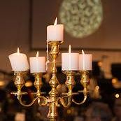 Gold Plated Candelabra I $40.00 I 90cm I Qty 25