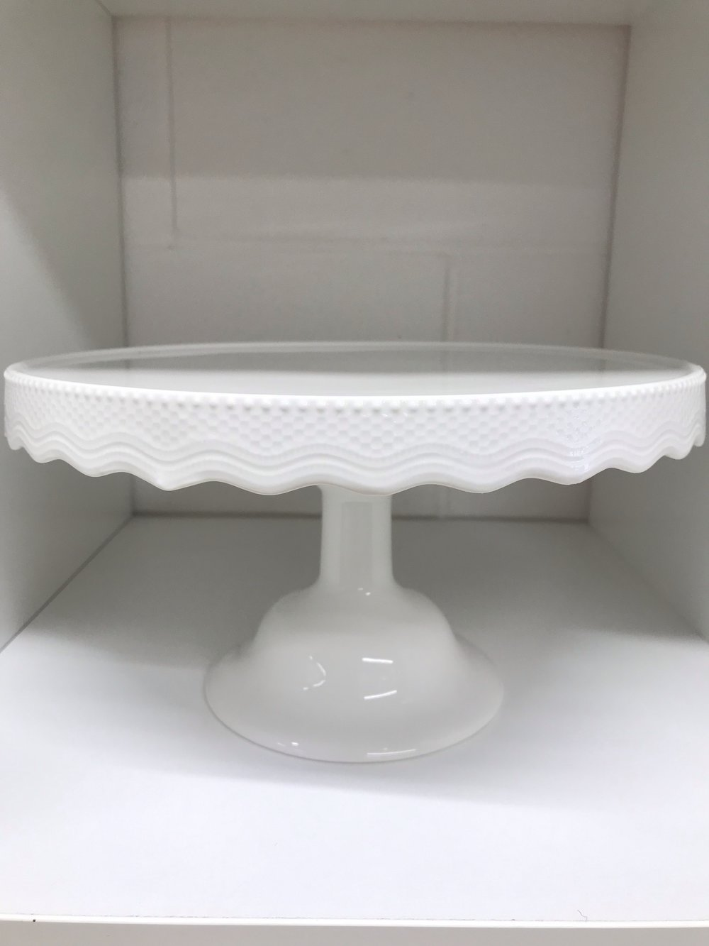 White Lace Cake Stand I $