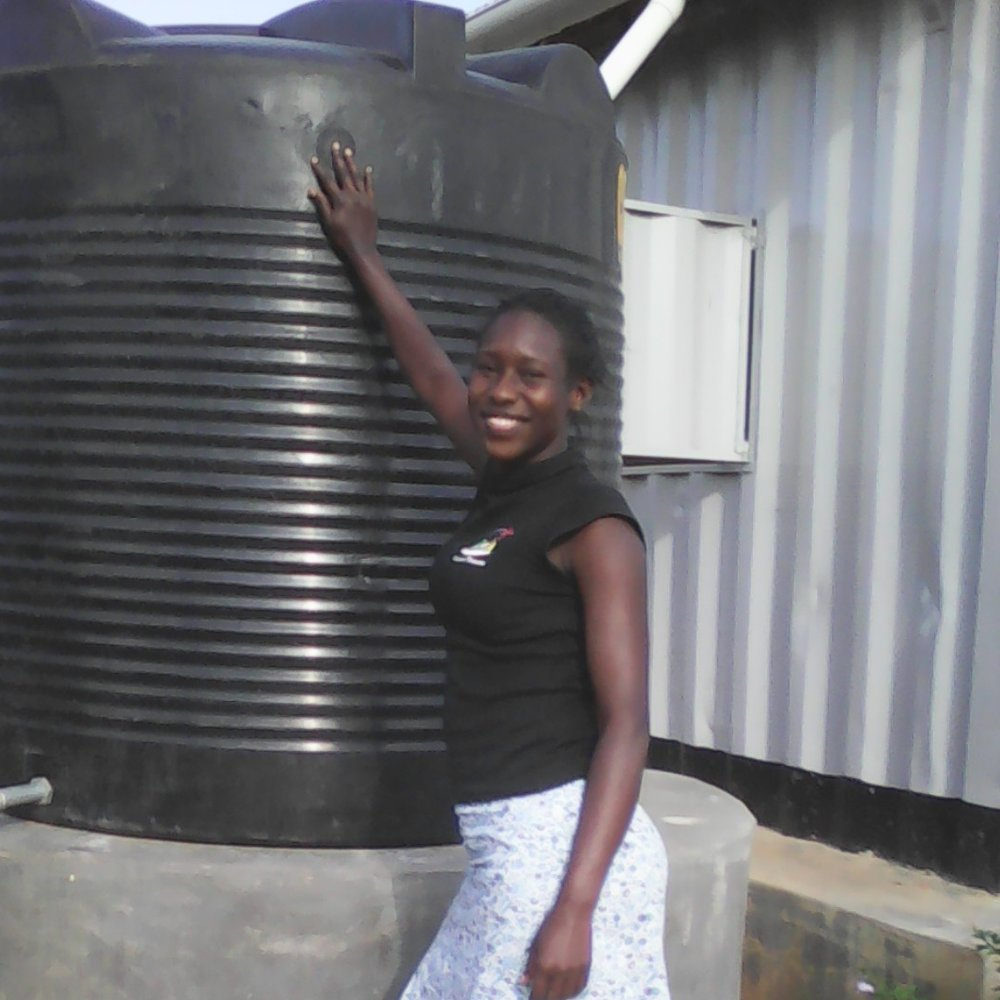 Florence Akiding, BSc Graduate, Busitema University   Project Assistant