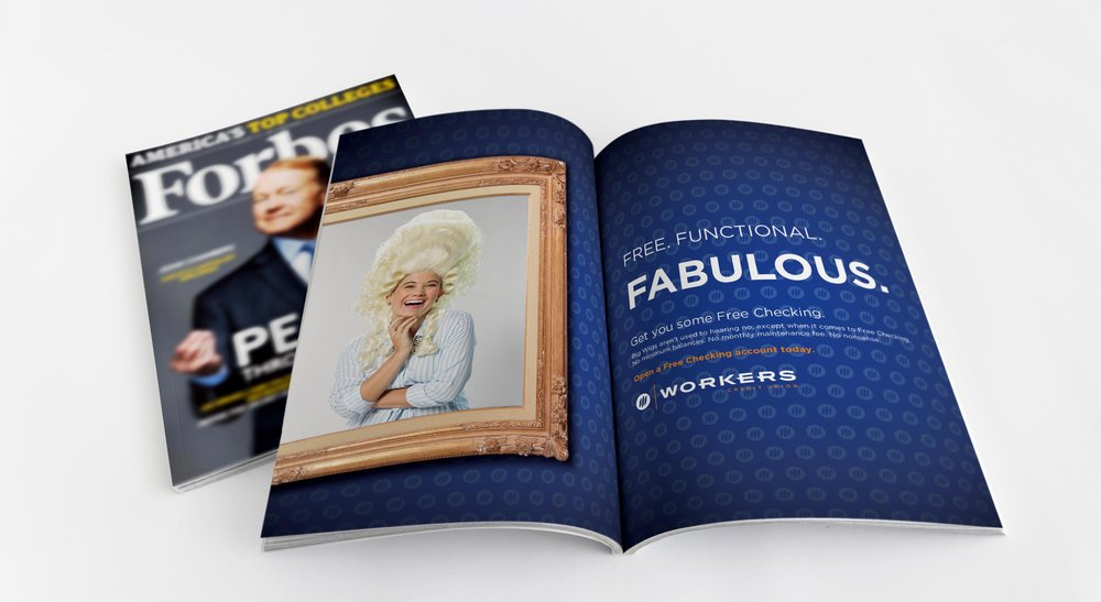 Print advertising - Starring our Big Wigs and pushing individual products, placements included several regional lifestyle and leisure magazines.