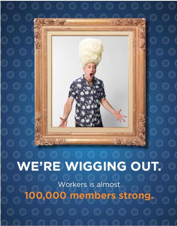 100k member campaign  - Did Big Wigs help the credit union surpass 100,000 members? Ahem. Just sayin'.
