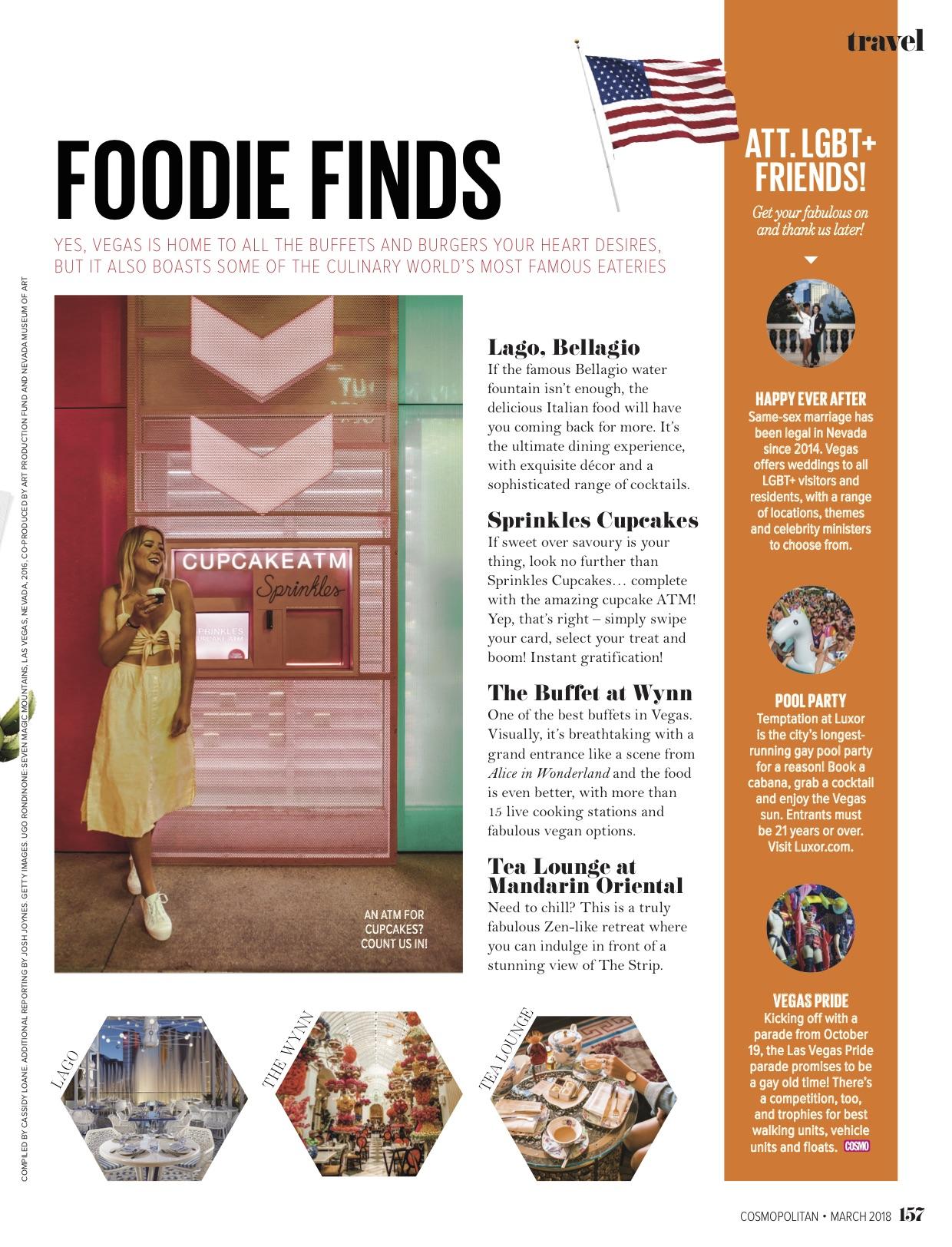 Vegas Travel Cosmopolitan Magazine