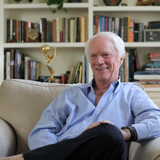 Love this guy. I took this picture of my dear friend Rusty Schweickart, Apollo 9 astronaut, a couple of years ago. In the back you can spot his Emmy.