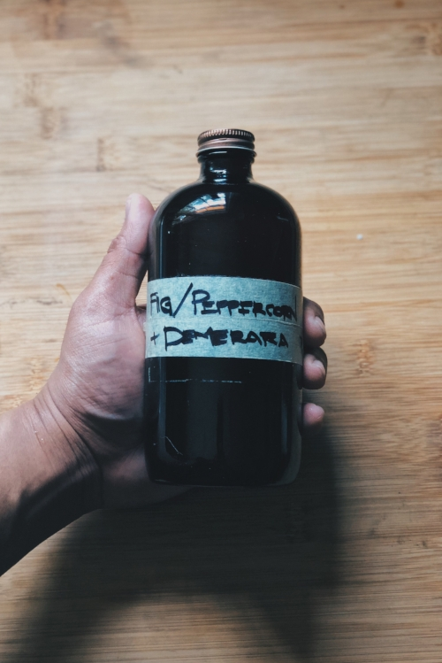 fig peppercorn syrup