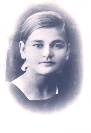 Ольга Павловна Голышева - бабушка