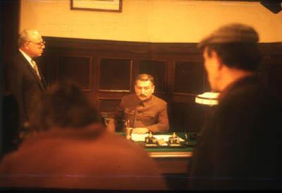 Е.Я.Джугашвили в роли И.В.Сталина