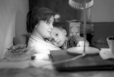 Мама и брат