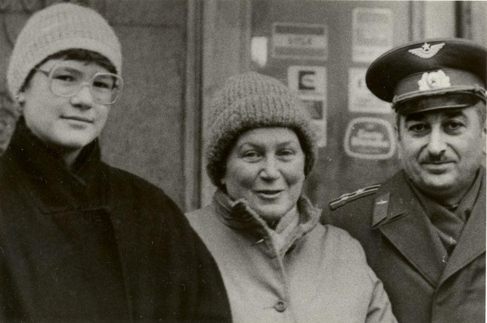 Ольга Петерс(Крис Еванс), Светлана Аллилуева, Е.Я.Джугашвили. Москва.1984г