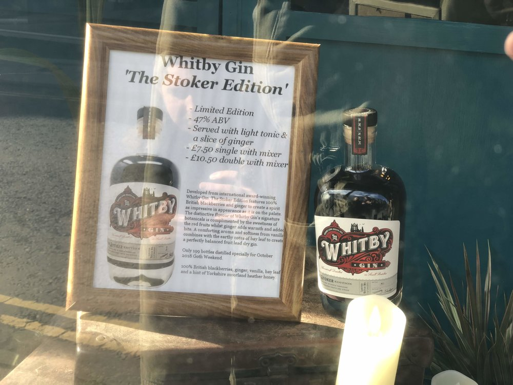 199 Steps Limited Edition Dracula Whitby Gin