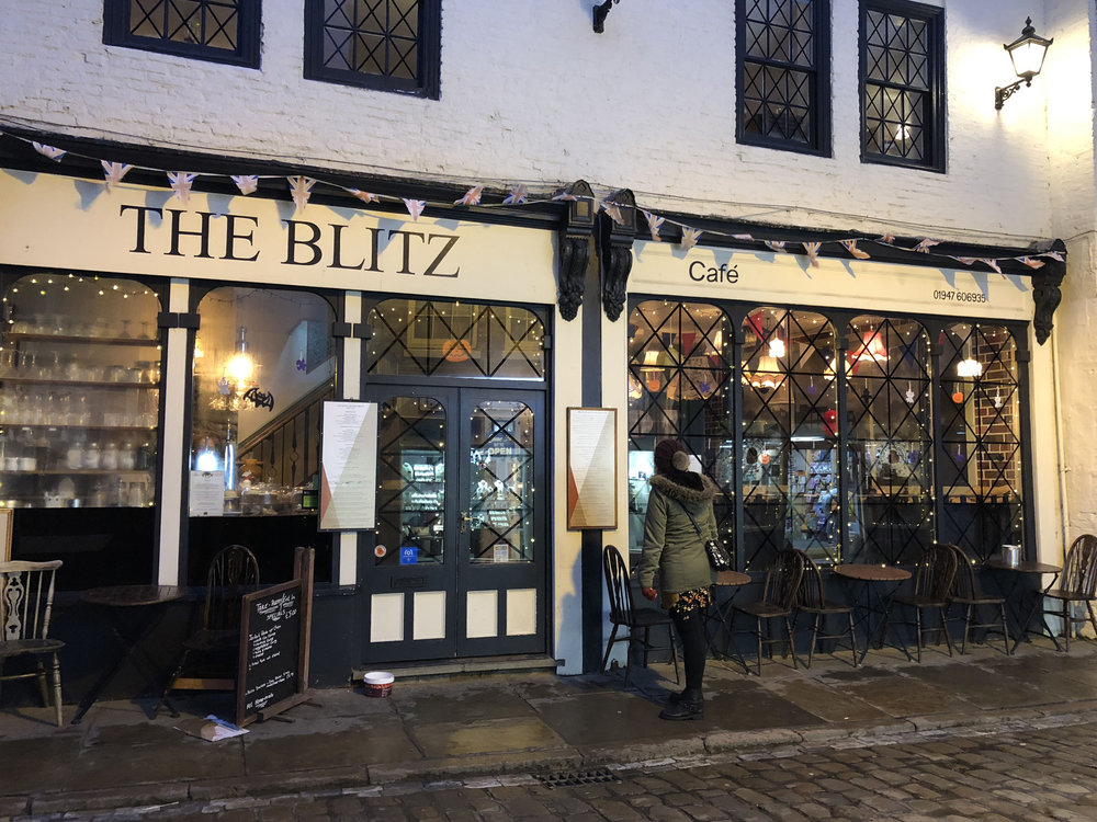 The Blitz Tearoom Whitby
