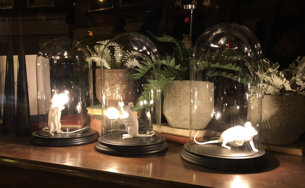 The Imaginarium Mouse Bell Jar Lights