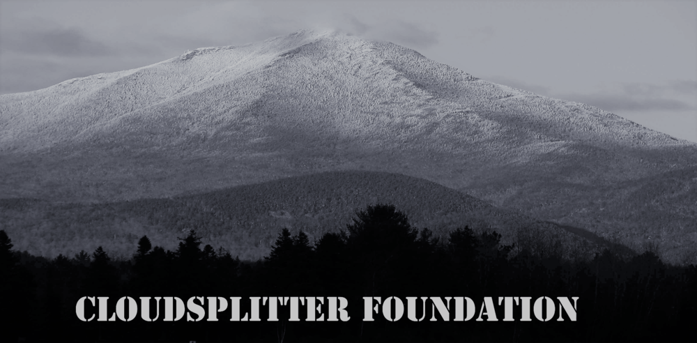 Adirondack Film Society Awarded Grant - from Cloudsplitter Foundation for 2018 Lake Placid Film Forum - and Beyond