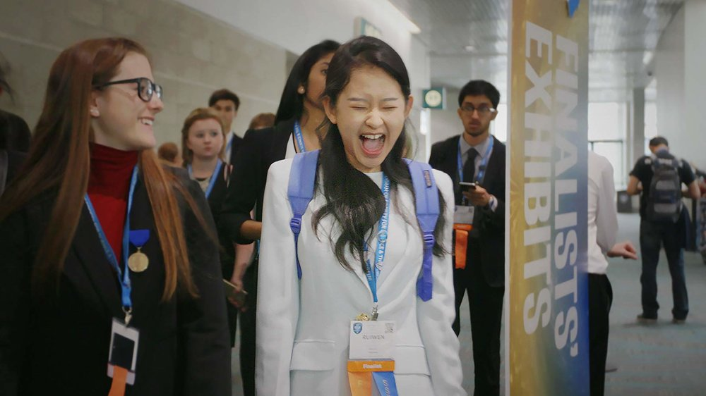 Science Fair - Nine high school students from disparate corners of the globe navigate rivalries, setbacks, and hormones on their quest to win the international science fair. Only one can be named