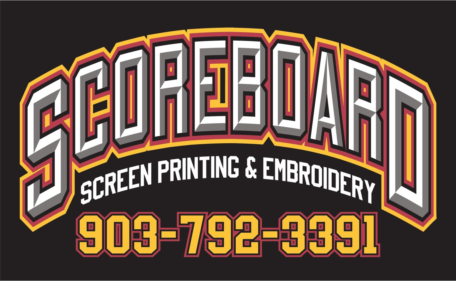 Texarkana, TX: Scoreboard Screen Printing & Embroidery