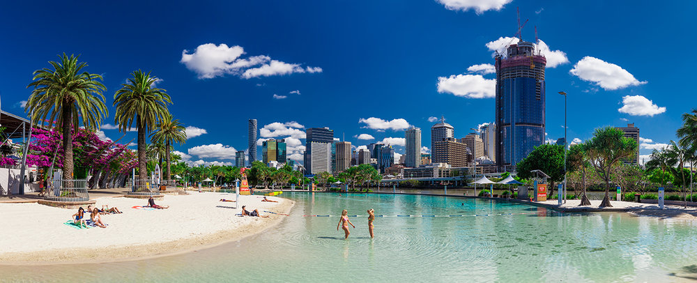 Brisbane Hotels City Oaks Hotels Image of Beach in Southbank.jpg