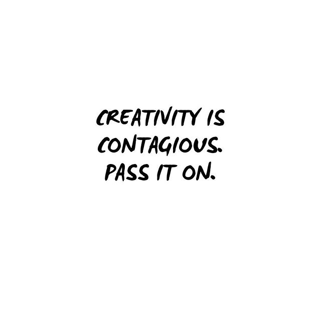 Creativity is contagious ➡️ pass it on😄 - it will make life much more interesting👌 #creativity #mondaymotivation by #juliettedawn  _____________  #quoteoftheday #designerslife #creatives #designingjewelry #etsyjewelry #lessismore #handcraftedbracelet #jewellerydesign #jewellerygram #braceletlove #minimalism #braceletshopping #handmadebracelets #jewelleryblog #elegance #etsyseller #finejewellery #inspiration #creative
