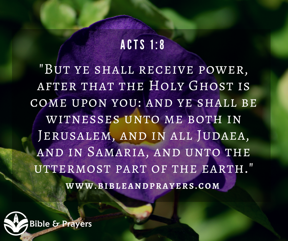 Bible Verse Acts 1-8