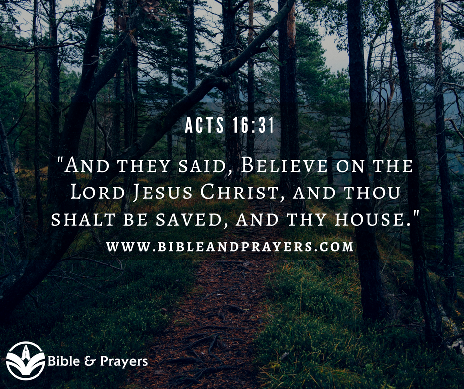 Bible Verse Acts 16-31