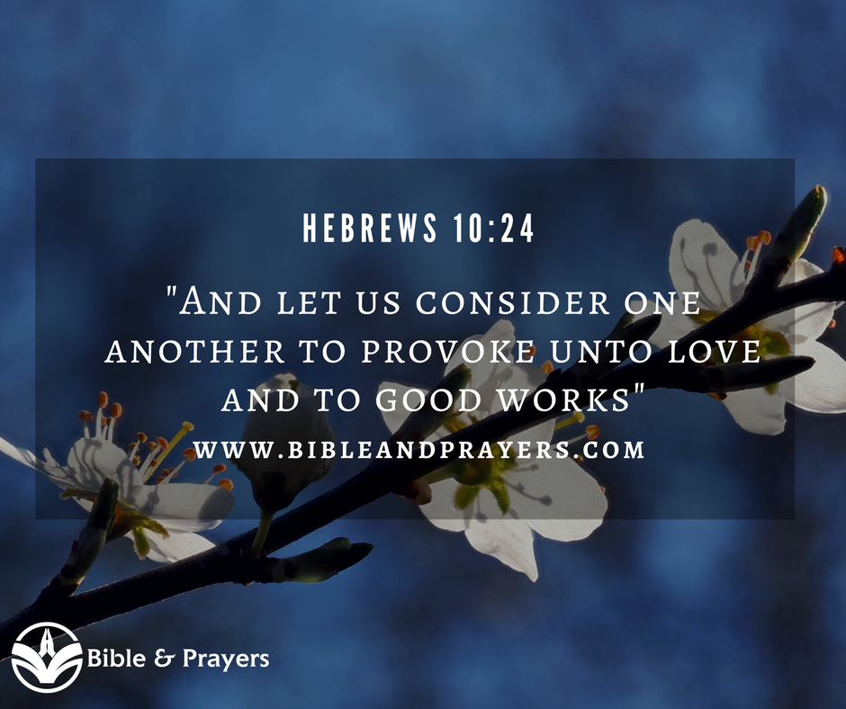 Bible Verse Hebrews 10-24
