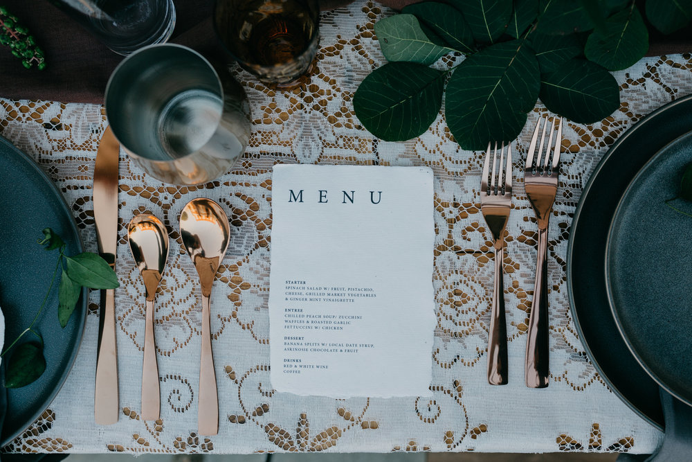 handmade tablescapes