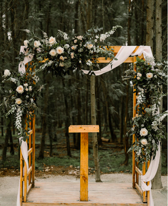 Die Woud wedding florist Wildeflower