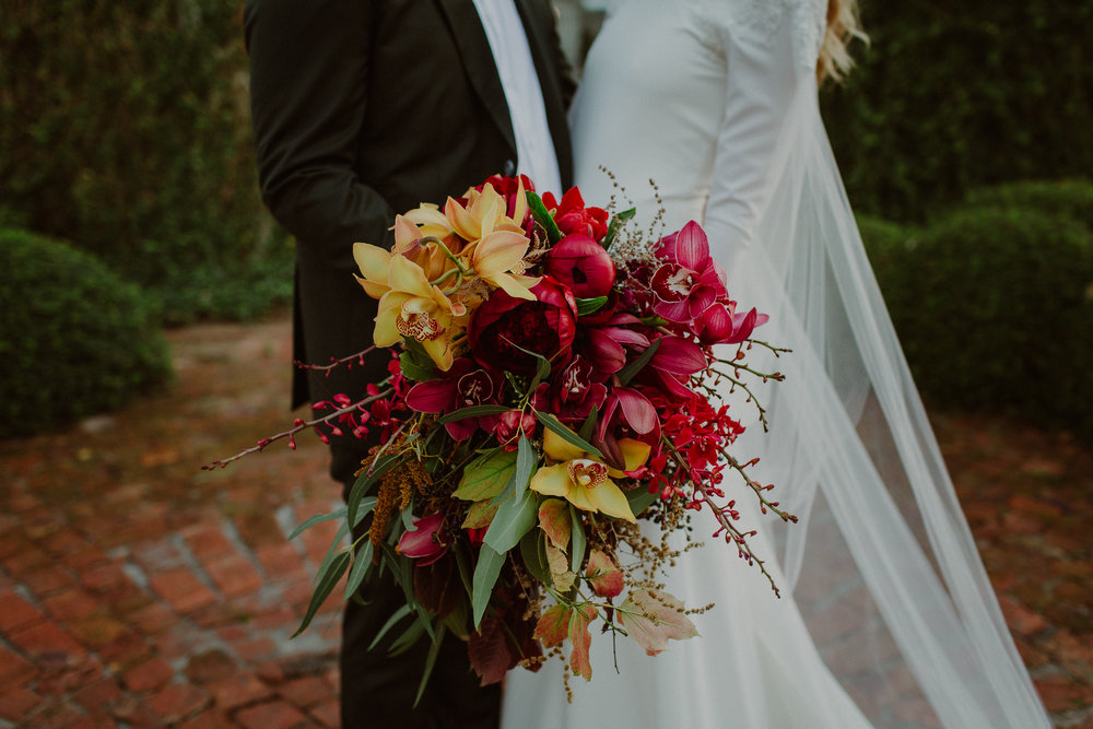 Paarl wedding florist cape town