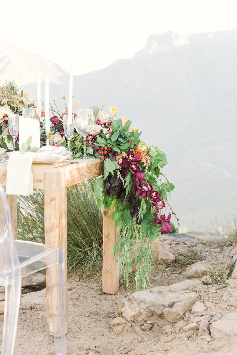 Cape Town Florist Editorial shoot