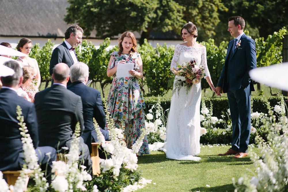 floral aisle wedding Wildeflower 11