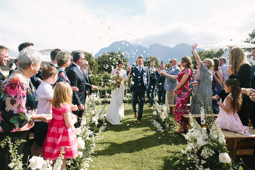 floral aisle wedding Wildeflower 18