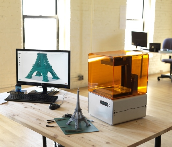 Formlabs Form1 3D Printer - Making 3d printers with Formlabs using precision actuators, optics, and lasers.