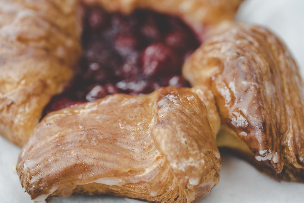 Hungarian Sour Cherry Danish