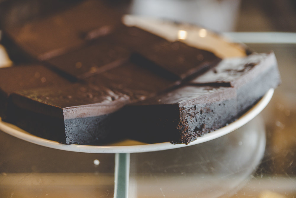 Felchlin Chocolate Ganache Brownie