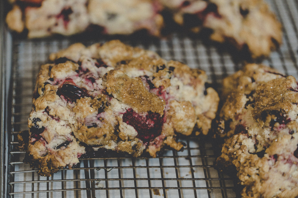 Wild Berry Cream Scone