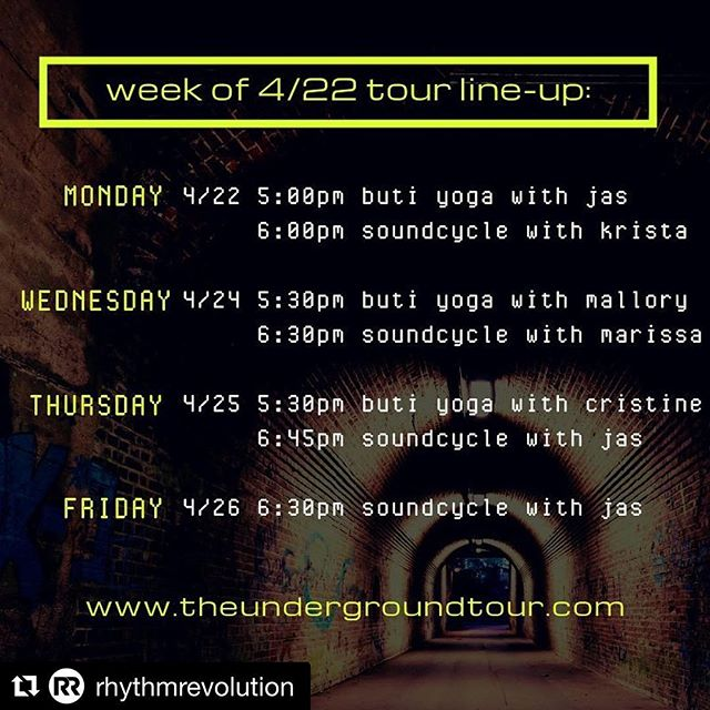 #Repost @rhythmrevolution with @get_repost ・・・ T H I S  W E E K on tour... Check it out y'all! . . All classes at 2949 Federal . .   things to know   Parking available in main entrance lot on Federal. Side door entry. Follow the sound upstairs😬 Bring your sunglasses and sunscreen if you burn easily. This space is flooded with natural light and we'll be enjoying every bit of dat Vitamin D amongst the sweat and sound! . .  Come close out your day with us! Link in bio💥💥 #denver #lohi #oldskool