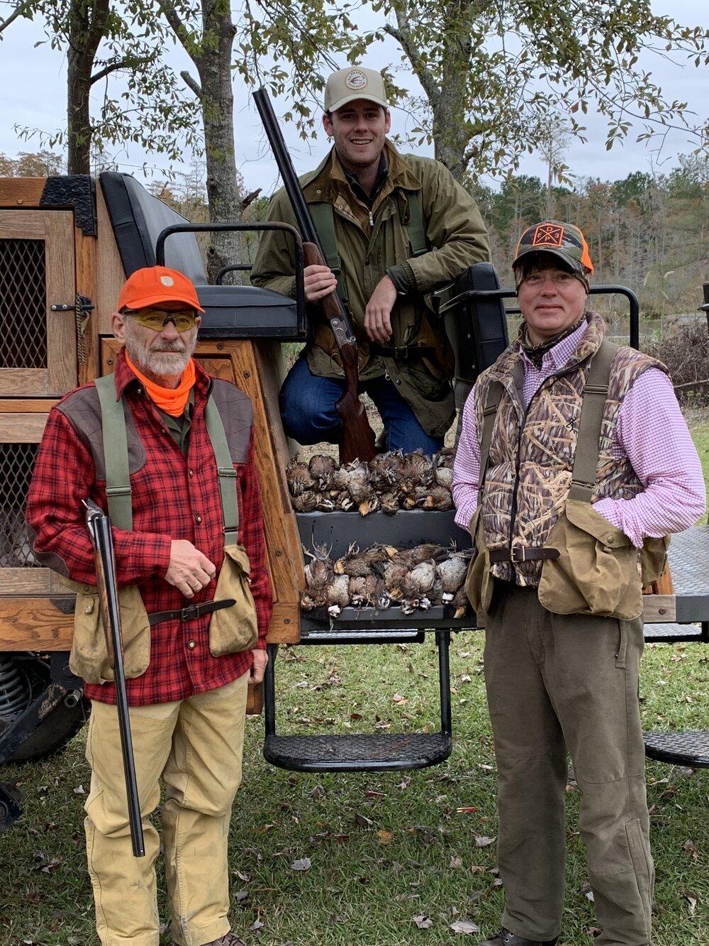 Guided quail hunts