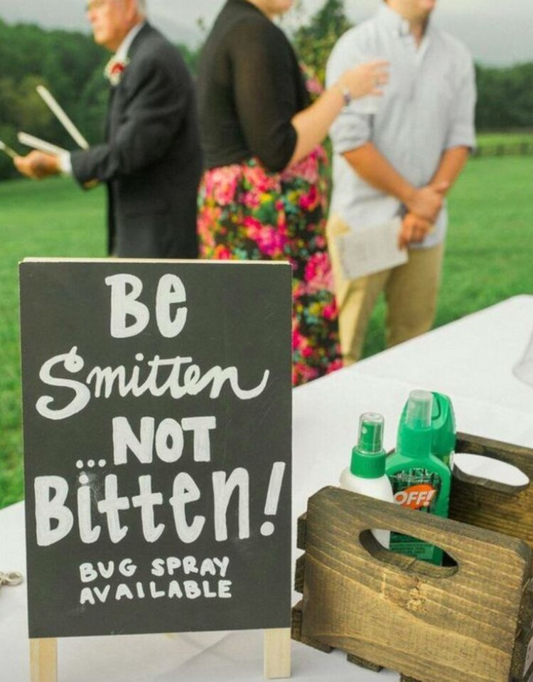 funny-wedding-day-signs-outdoor-wedding
