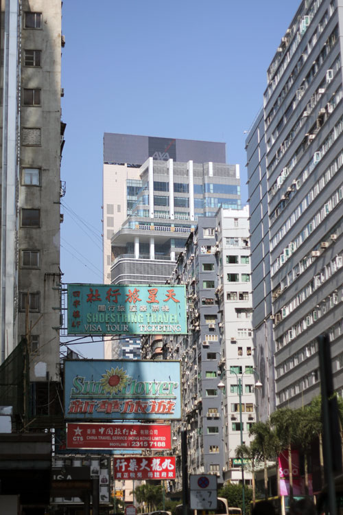Hong Kong... Density