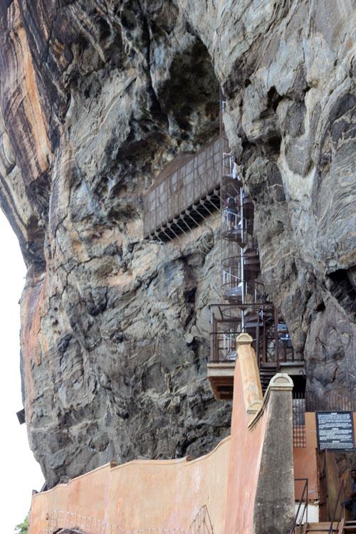 Sigiriya - stairs