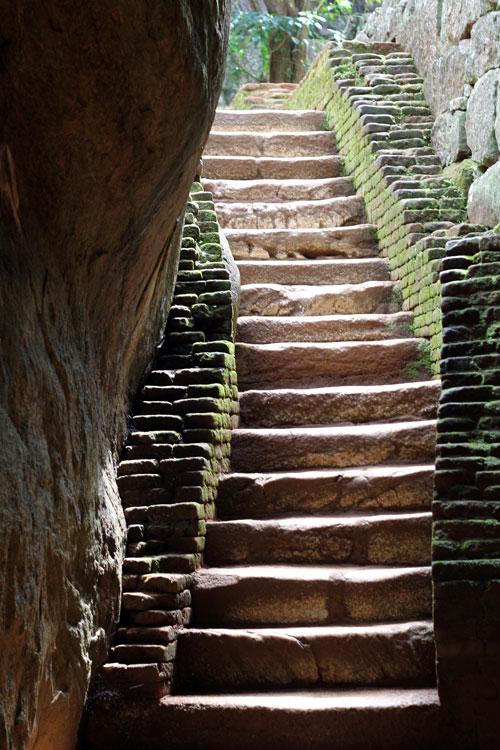 Sigiriya Stairs