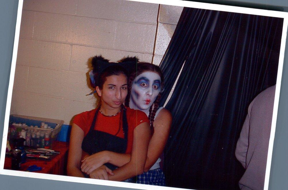 Me and my friend Sadie.