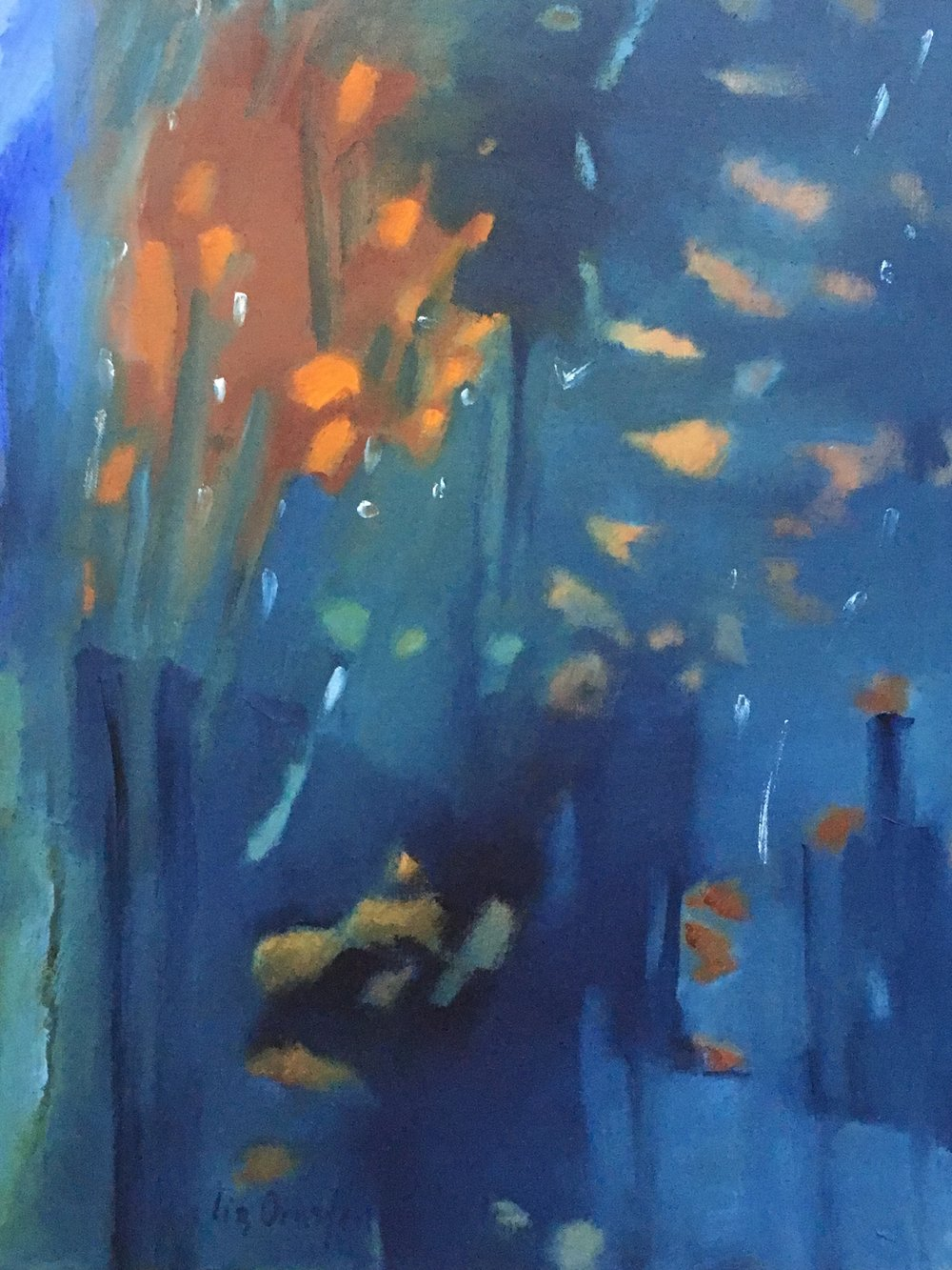 """Dusk Fireflies""  
