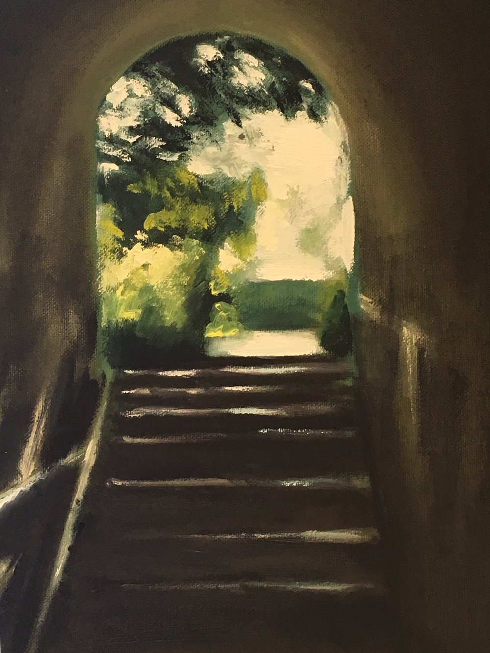 """Viaduct Stairway"" 