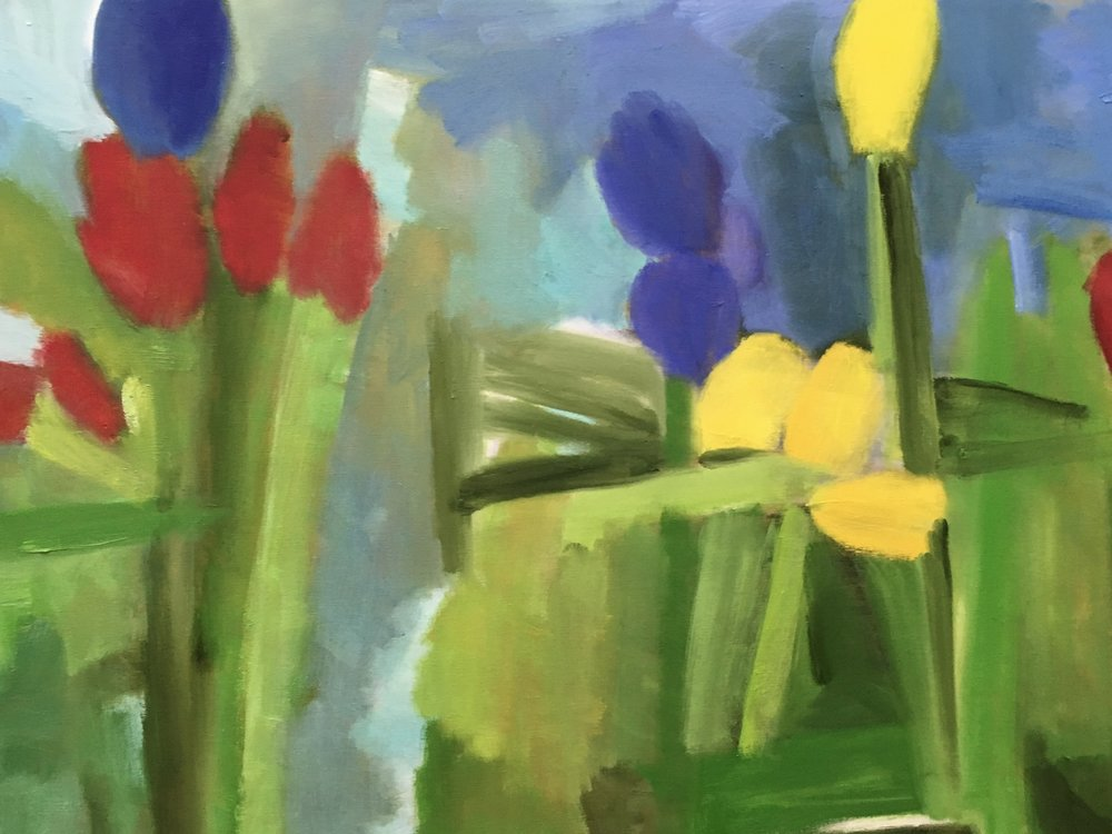 """""""Red Yellow Purple Tulips"""" 