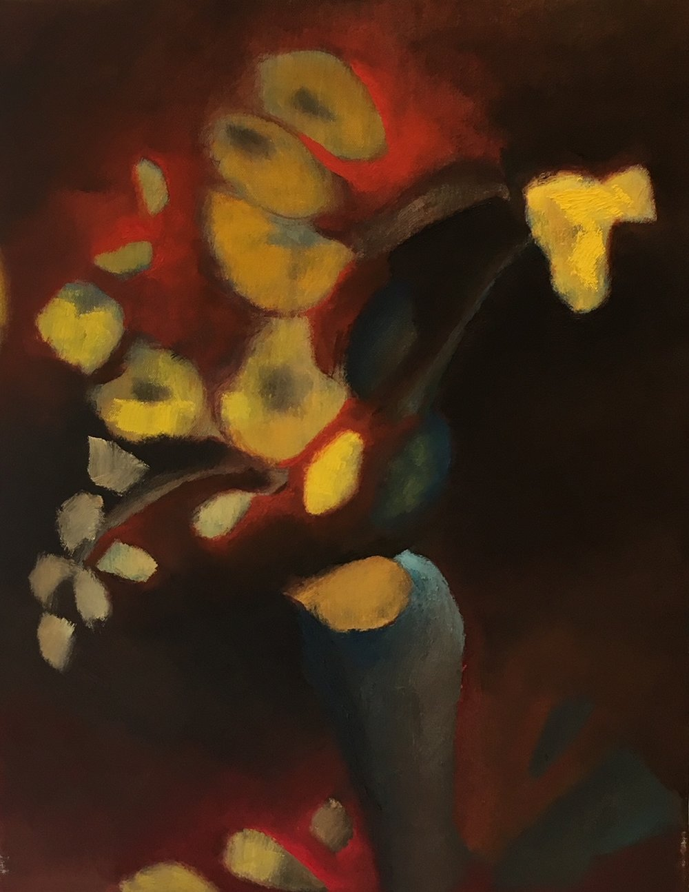 """""""Fire Yellow Teal"""" 